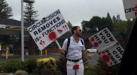 Anti- Circumcision Protesters Draw Attention in Danville