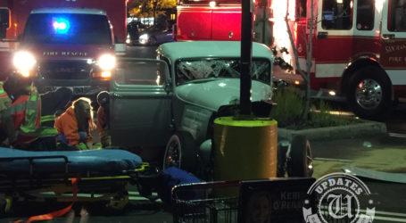 Pair Badly Injured After Hot Rod Crash in Danville Parking Lot
