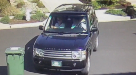 Range Rover Thieves Strike Again