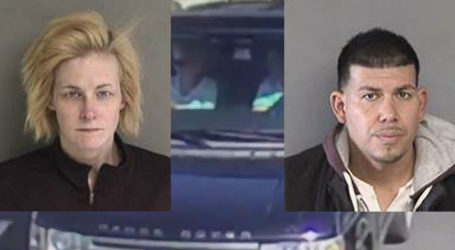 Range Rover Package Thieves Identified