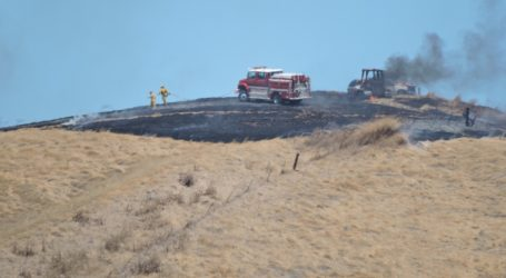 Brush Fire Chars Hillside Near Blackhawk Plaza