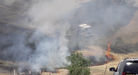 Weed Abatement Sparks 33 Acre Grass Fire in Blackhawk
