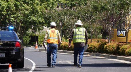 Construction Crews Rupture Gas Line in Danville