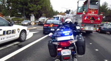 Passenger Airlifted After Driver Flees Major Injury Accident in San Ramon