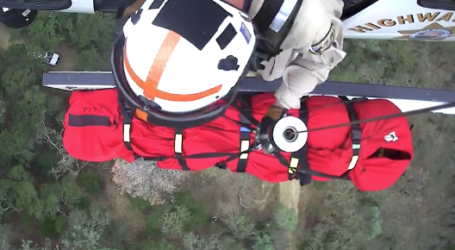 VIDEO: Helicopter hoists injured equestrian from Mt. Diablo State Park