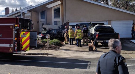 Hit and run crash into a San Ramon home prompts school lockdown Friday