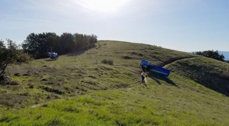 Pilot suffers minor injuries after ultralight crash on Mt Diablo